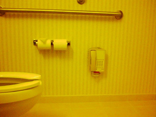 Hotel Bathroom Floor