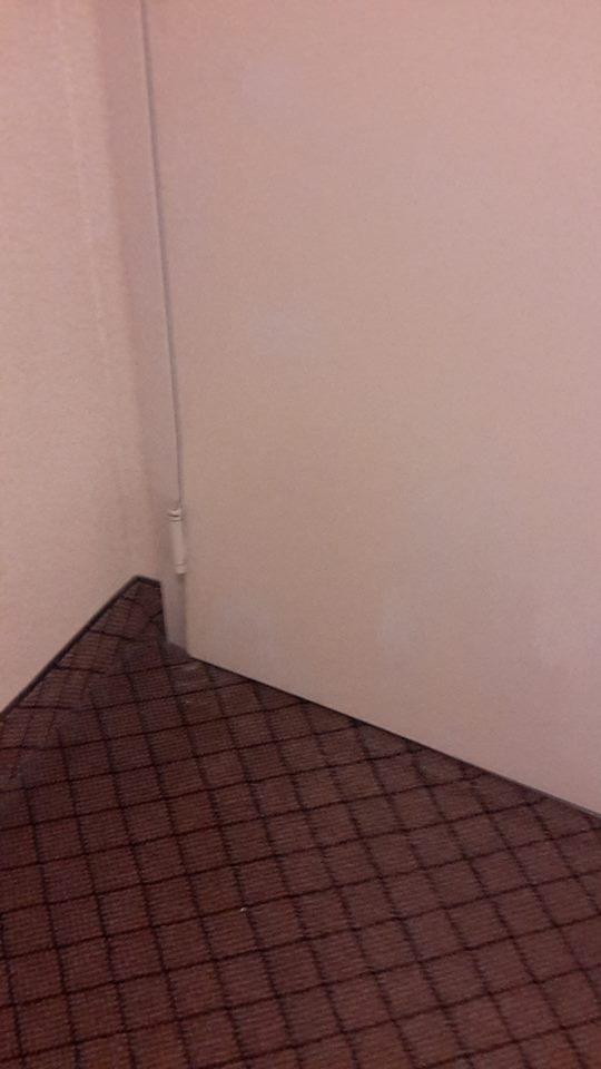 Hotel Door Ajar