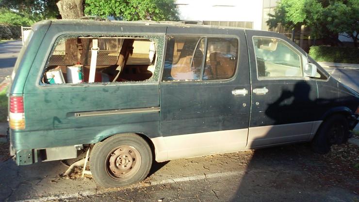 Hotel Abandoned Van 2