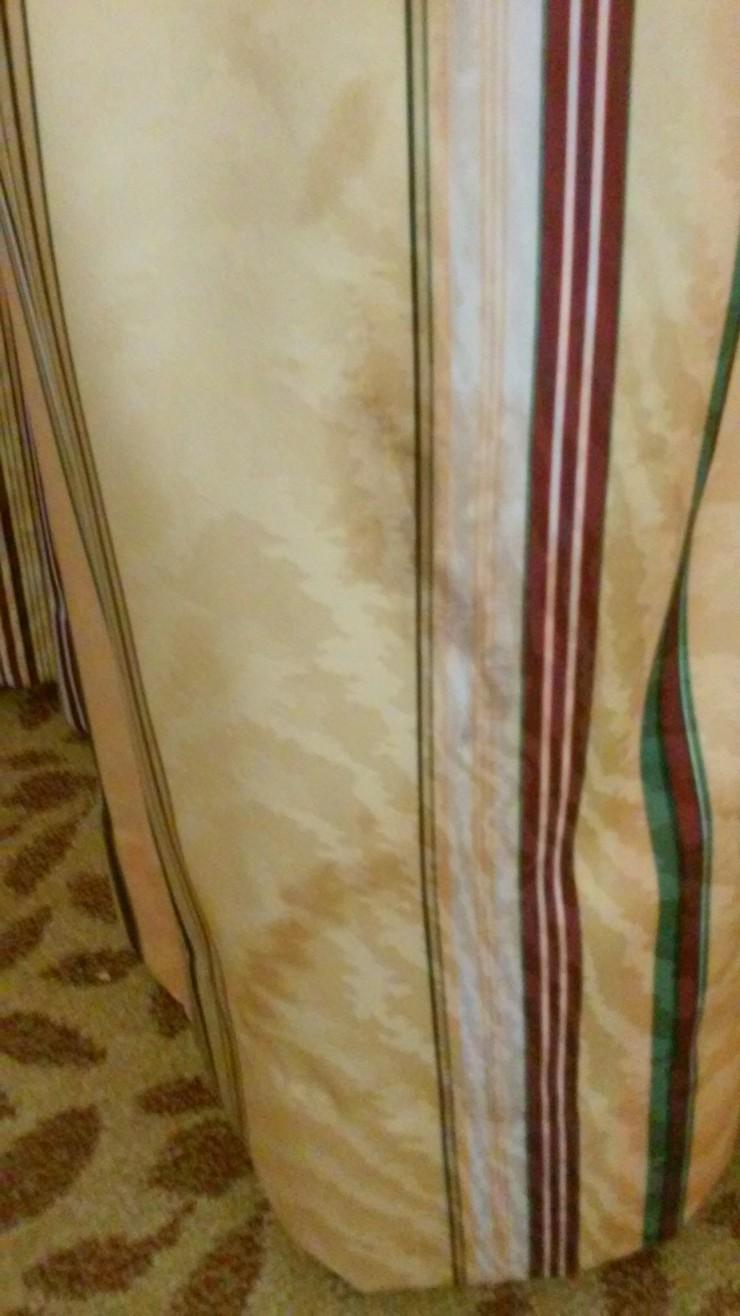 Hotel Curtain Blood