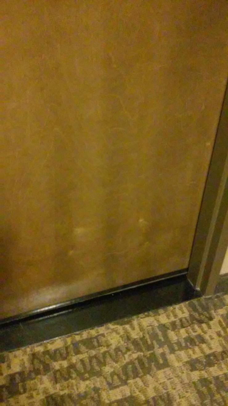 Hotel Vancouver Door