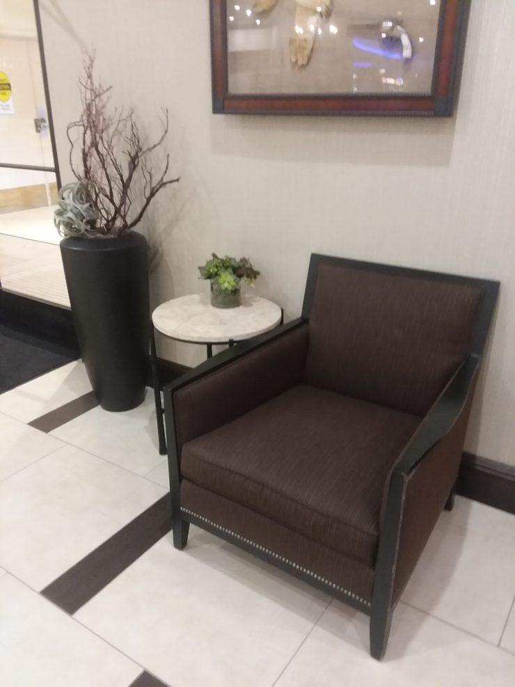 Hotel Reno Chair Vomit