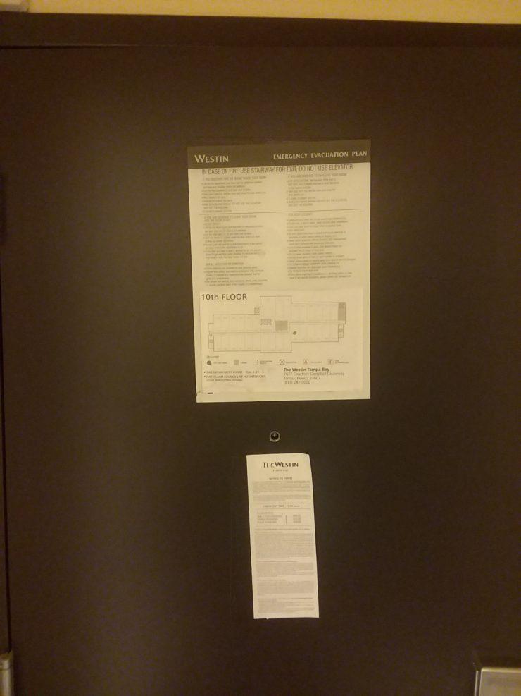 Hotel Door OCD